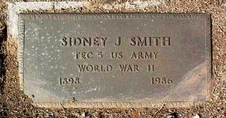 SMITH, SIDNEY J. - Yavapai County, Arizona | SIDNEY J. SMITH - Arizona Gravestone Photos