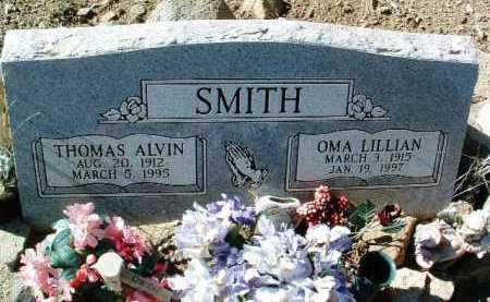 SMITH, OMA LILLIAN - Yavapai County, Arizona | OMA LILLIAN SMITH - Arizona Gravestone Photos