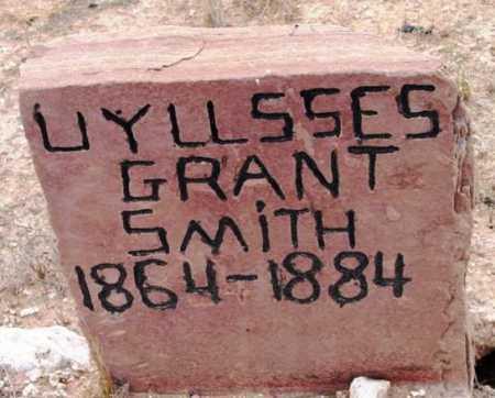 SMITH, ULYSSES GRANT - Yavapai County, Arizona   ULYSSES GRANT SMITH - Arizona Gravestone Photos