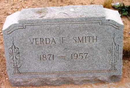 SMITH, VERDA F. - Yavapai County, Arizona | VERDA F. SMITH - Arizona Gravestone Photos