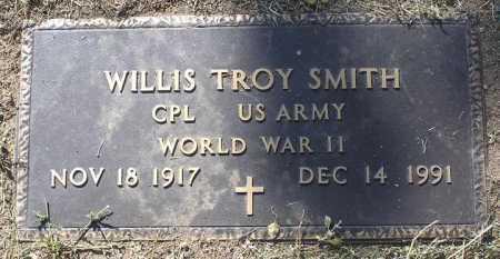 SMITH, WILLIS TROY - Yavapai County, Arizona | WILLIS TROY SMITH - Arizona Gravestone Photos