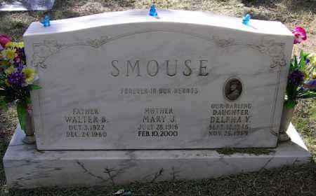 SMOUSE, WALTER BLAIR, JR. - Yavapai County, Arizona | WALTER BLAIR, JR. SMOUSE - Arizona Gravestone Photos