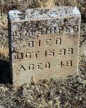 SNIPES, C. M. - Yavapai County, Arizona | C. M. SNIPES - Arizona Gravestone Photos
