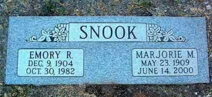 SNOOK, EMORY R. - Yavapai County, Arizona   EMORY R. SNOOK - Arizona Gravestone Photos