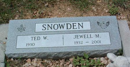 SNOWDEN, JEWELL M. - Yavapai County, Arizona | JEWELL M. SNOWDEN - Arizona Gravestone Photos