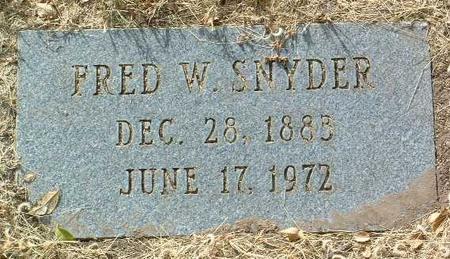 SNYDER, FRED WARREN - Yavapai County, Arizona | FRED WARREN SNYDER - Arizona Gravestone Photos