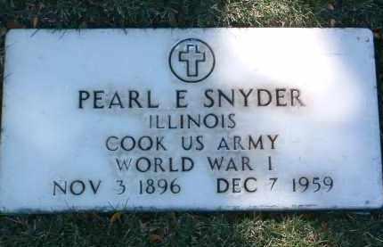 SNYDER, PEARL E. - Yavapai County, Arizona | PEARL E. SNYDER - Arizona Gravestone Photos