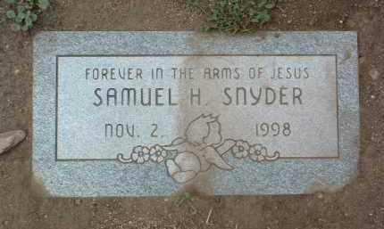 SNYDER, SAMUEL H. - Yavapai County, Arizona | SAMUEL H. SNYDER - Arizona Gravestone Photos