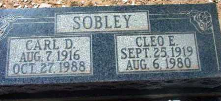 SOBLEY, CLEO E. - Yavapai County, Arizona | CLEO E. SOBLEY - Arizona Gravestone Photos