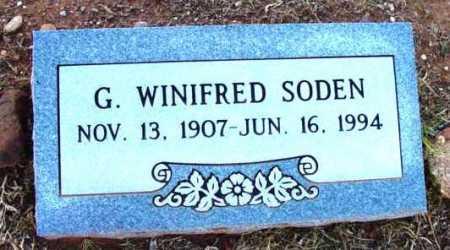 SODEN, G. WINIFRED - Yavapai County, Arizona   G. WINIFRED SODEN - Arizona Gravestone Photos
