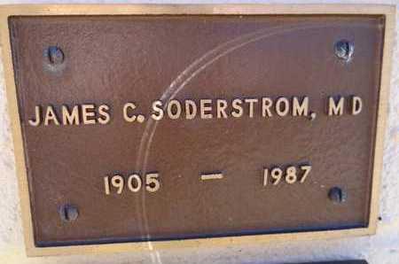 SODERSTROM, JAMES C - Yavapai County, Arizona   JAMES C SODERSTROM - Arizona Gravestone Photos