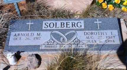SOLBERG, ARNOLD MELVIN - Yavapai County, Arizona   ARNOLD MELVIN SOLBERG - Arizona Gravestone Photos