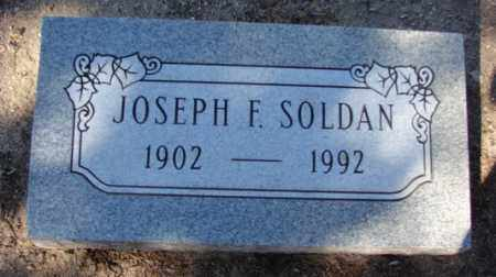 SOLDAN, JOSEPH F. - Yavapai County, Arizona | JOSEPH F. SOLDAN - Arizona Gravestone Photos