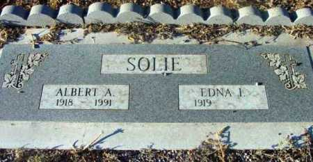 SOLIE, ALBERT A. - Yavapai County, Arizona | ALBERT A. SOLIE - Arizona Gravestone Photos