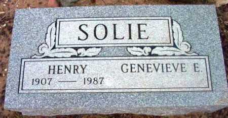 SOLIE, GENEVIEVE E. - Yavapai County, Arizona | GENEVIEVE E. SOLIE - Arizona Gravestone Photos