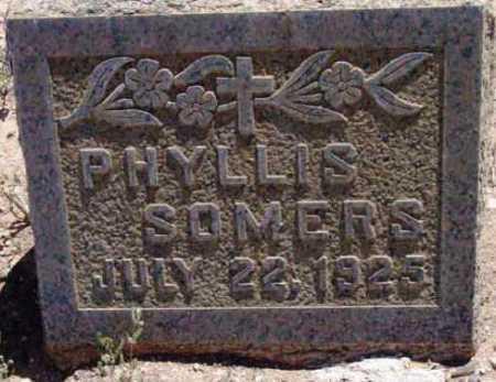SOMERS, PHYLLIS - Yavapai County, Arizona | PHYLLIS SOMERS - Arizona Gravestone Photos