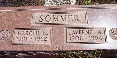 SOMMER, LAVERNE A. - Yavapai County, Arizona | LAVERNE A. SOMMER - Arizona Gravestone Photos