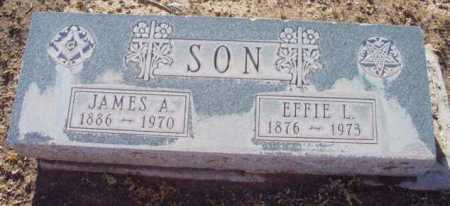 SON, JAMES A. - Yavapai County, Arizona | JAMES A. SON - Arizona Gravestone Photos