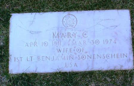 SONENSCHEIN, MARY C. - Yavapai County, Arizona | MARY C. SONENSCHEIN - Arizona Gravestone Photos