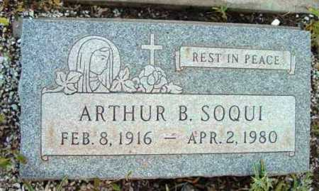 SOQUI, ARTHUR B. - Yavapai County, Arizona | ARTHUR B. SOQUI - Arizona Gravestone Photos
