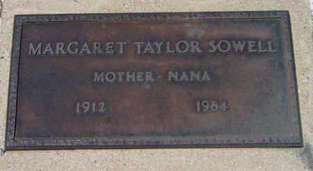 TAYLOR SOWELL, MARGARET - Yavapai County, Arizona | MARGARET TAYLOR SOWELL - Arizona Gravestone Photos