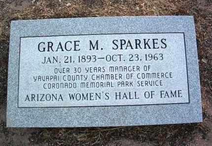 SPARKES, GRACE MARIAN - Yavapai County, Arizona | GRACE MARIAN SPARKES - Arizona Gravestone Photos