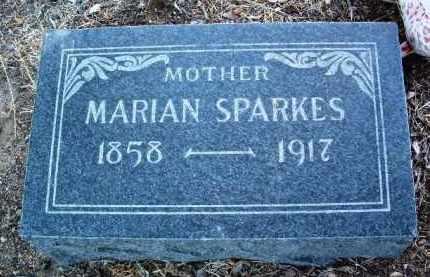 MARTIN SPARKES, MARIAN - Yavapai County, Arizona | MARIAN MARTIN SPARKES - Arizona Gravestone Photos