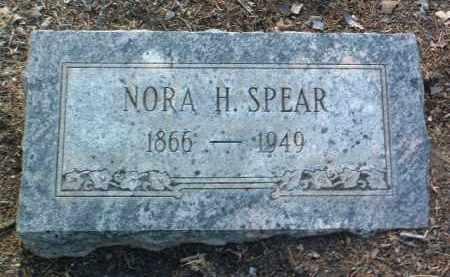 SPEAR, NORA HELENA - Yavapai County, Arizona   NORA HELENA SPEAR - Arizona Gravestone Photos