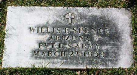 SPENCE, WILLIS EARL - Yavapai County, Arizona | WILLIS EARL SPENCE - Arizona Gravestone Photos