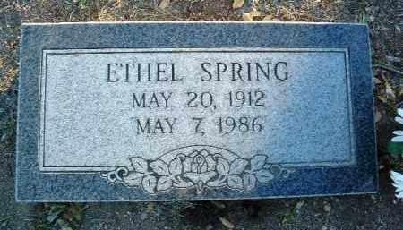 BENNETT SPRING, ETHEL - Yavapai County, Arizona | ETHEL BENNETT SPRING - Arizona Gravestone Photos