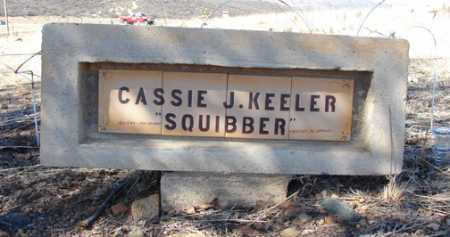 KEELER, CASSIE J. - Yavapai County, Arizona | CASSIE J. KEELER - Arizona Gravestone Photos