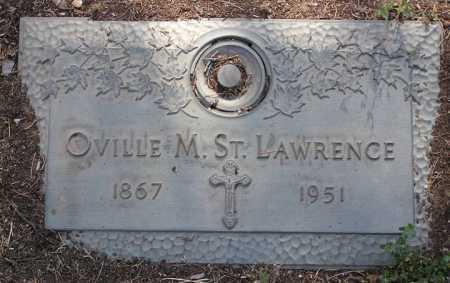 ST. LAWRENCE, OVILLE M. - Yavapai County, Arizona   OVILLE M. ST. LAWRENCE - Arizona Gravestone Photos