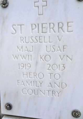 ST. PIERRE, RUSSELL VINCENT - Yavapai County, Arizona | RUSSELL VINCENT ST. PIERRE - Arizona Gravestone Photos