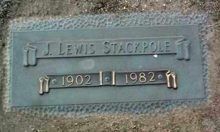 STACKPOLE, JOSEPH LEWIS - Yavapai County, Arizona   JOSEPH LEWIS STACKPOLE - Arizona Gravestone Photos