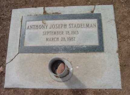 STADELMAN, ANTHONY J. - Yavapai County, Arizona | ANTHONY J. STADELMAN - Arizona Gravestone Photos