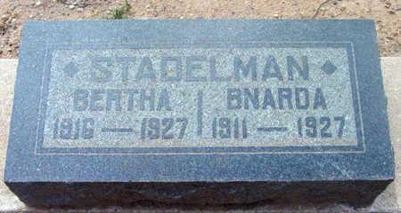 STADELMAN, BERTHA - Yavapai County, Arizona | BERTHA STADELMAN - Arizona Gravestone Photos
