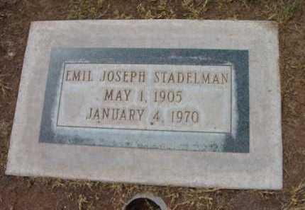 STADELMAN, EMIL JOSEPH - Yavapai County, Arizona   EMIL JOSEPH STADELMAN - Arizona Gravestone Photos