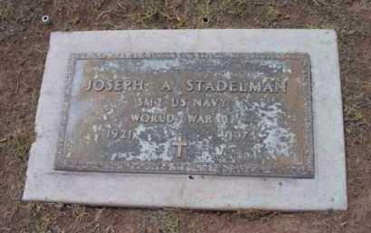 STADELMAN, JOSEPH A. - Yavapai County, Arizona   JOSEPH A. STADELMAN - Arizona Gravestone Photos