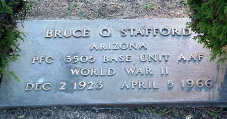 STAFFORD, BRUCE Q. - Yavapai County, Arizona | BRUCE Q. STAFFORD - Arizona Gravestone Photos