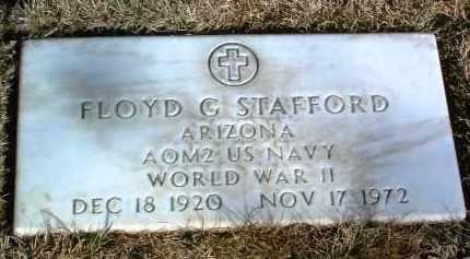 STAFFORD, FLOYD GLENN - Yavapai County, Arizona | FLOYD GLENN STAFFORD - Arizona Gravestone Photos