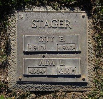 STAGER, ADA L. - Yavapai County, Arizona | ADA L. STAGER - Arizona Gravestone Photos