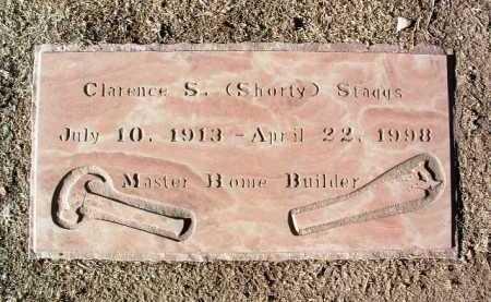 STAGGS, CLARENCE SELDON - Yavapai County, Arizona | CLARENCE SELDON STAGGS - Arizona Gravestone Photos