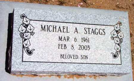 STAGGS, MICHAEL A. - Yavapai County, Arizona | MICHAEL A. STAGGS - Arizona Gravestone Photos