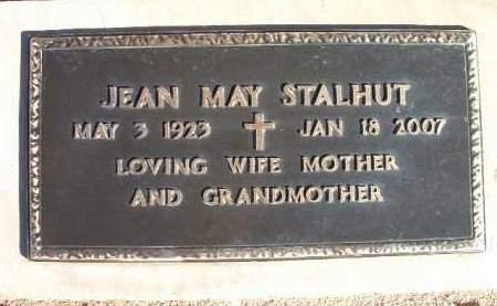 STALHUT, JEAN MAY - Yavapai County, Arizona | JEAN MAY STALHUT - Arizona Gravestone Photos