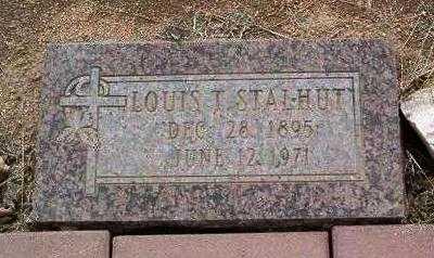 STALHUT, LOUIS T., SR. - Yavapai County, Arizona | LOUIS T., SR. STALHUT - Arizona Gravestone Photos