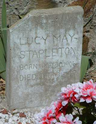 STAPLETON, LUCY MAE - Yavapai County, Arizona   LUCY MAE STAPLETON - Arizona Gravestone Photos