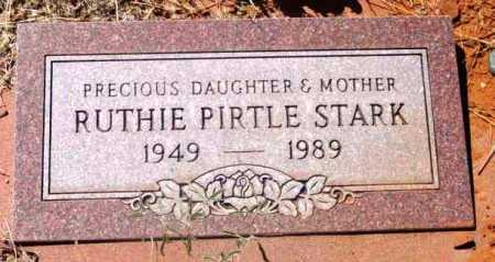 PIRTLE STARK, RUTH (RUTHIE) - Yavapai County, Arizona   RUTH (RUTHIE) PIRTLE STARK - Arizona Gravestone Photos
