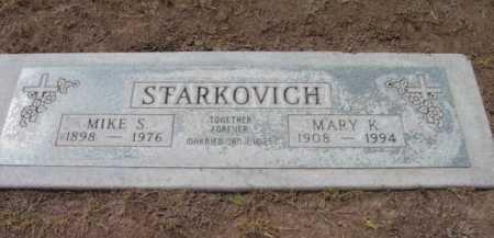 STARKOVICH, MIKE S. - Yavapai County, Arizona | MIKE S. STARKOVICH - Arizona Gravestone Photos