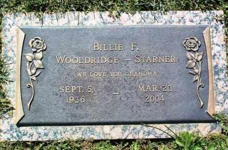 STARNER, BILLIE F. - Yavapai County, Arizona | BILLIE F. STARNER - Arizona Gravestone Photos