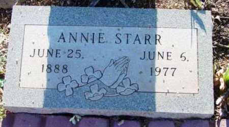 STARR, ANNIE - Yavapai County, Arizona | ANNIE STARR - Arizona Gravestone Photos